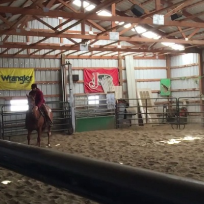 Breaking a Colt in North Eastern Wyoming – by Kayla Newman