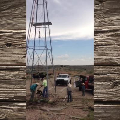Pulling Windmill Rods – by Rachel Mellard