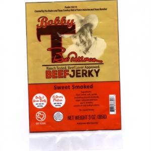 sweet smoked jerky
