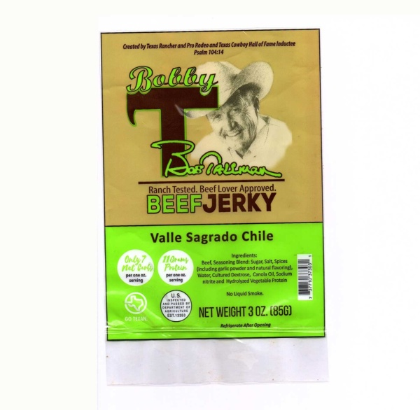ValleSagradoChile Jerky