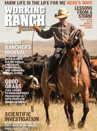 Working Ranch Junior Mag Cover 2019