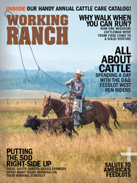 Working Ranch Magazine Cover Sept Oct 2019