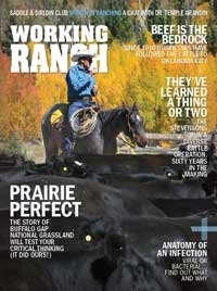 Working Ranch Magazine Cover Nov Dec 2019
