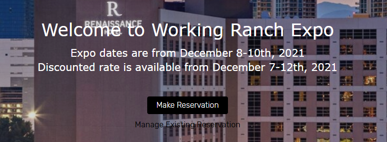 reservations for expo accommodations